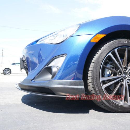 Urethane Fit 12-16 FR-S // Toyota 86 Lower Splitter GV Style Front Bumper Lip