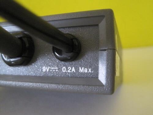 TWO OUTPUT VGA-QXGA USED EXTRON ELECTRONICS 60-046-02 P//2 DA2 PLUS WORLD