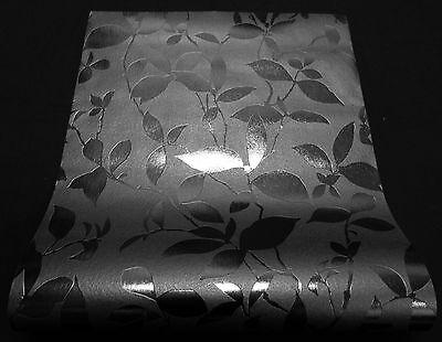 """34819-4 edle Vinyl Tapete mit Glitter und Glanz /""""Adelaide/"""" grau silber schwarz"""