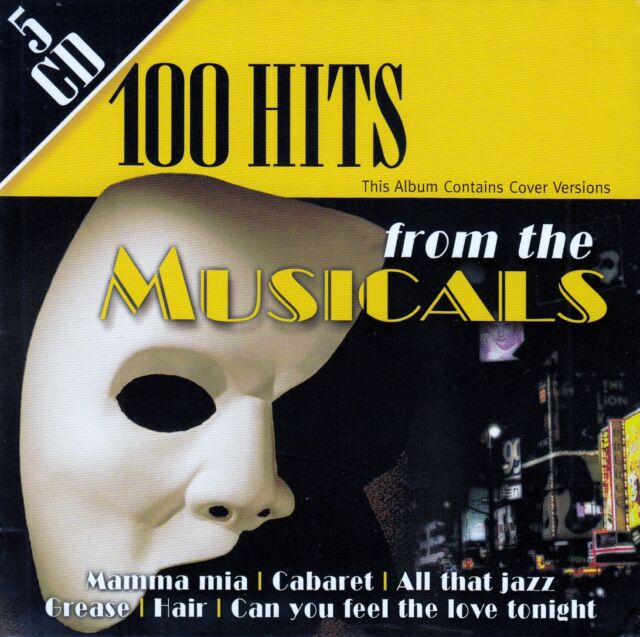 100 HITS FROM THE MUSICALS / 5 CD-SET - NEU
