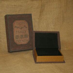 Book-Boxes-Set-2-Faith-Family-Friends-Antique-Country-Primitive-Style