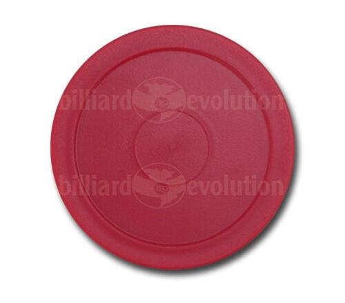 "2 Red Round+2 Red Triangle Pucks 2-1//2/"" Diameter Set of 4 Air Hockey Pucks"