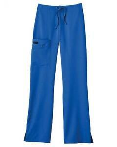 72fcc6806f7 Jockey Ladies Front Tied Zipper Scrub Pant Mid Waist Fit Plumberry ...
