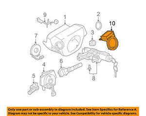 Details about NISSAN OEM Anti-Theft-Ignition Immobilizer Module 28590C9965