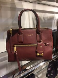 6ae4faf63fb5 Image is loading NWT-Marc-Jacobs-Recruit-East-West-Leather-Tote-