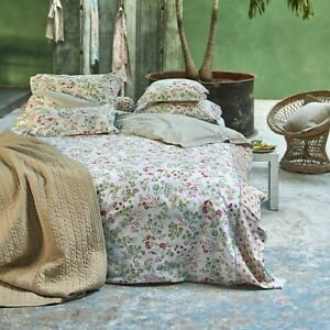 pip studio bettw sche jaipur flower khaki blumen bl ten romantik natur perkal ebay. Black Bedroom Furniture Sets. Home Design Ideas