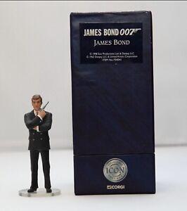 Corgi-Icon-James-Bond-007-F04041-Roger-Moore-3-Figure-1st-Edition