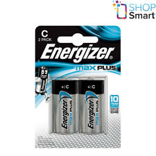 6a3589592aa 2 ENERGIZER MAX PLUS C LR14 BATTERIES ALKALINE 1.5V BABY R14 MN1400 AM2 E93  NEW