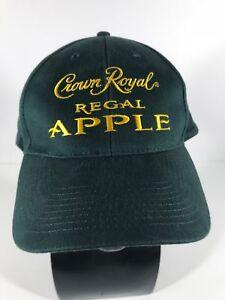 5aaf59840 Crown Royal Regal Apple Whiskey Baseball Hat in GREEN Bartender Cap ...