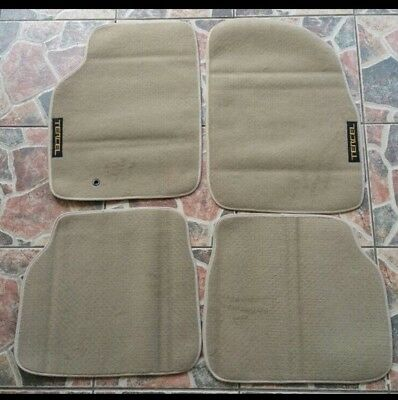 1991-1994 Toyota Tercel /& Toyota Paseo 4 pc Set Factory Fit Floor Mats