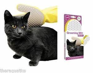Details about Grooming Mitt for Cats and Dogs Massage Comb Brush Tangles  Burr Removal Hair NEW
