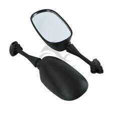 Pair Black Rear View Mirrors For HONDA CBR600 F4 99-00 F4I 01-02 CBR919 CBR900