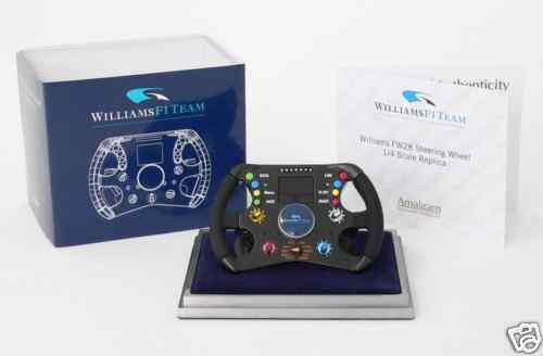cómodamente Amalgam 1 1 1 4 Williams FW28 Steering Wheel  5066  Compra calidad 100% autentica