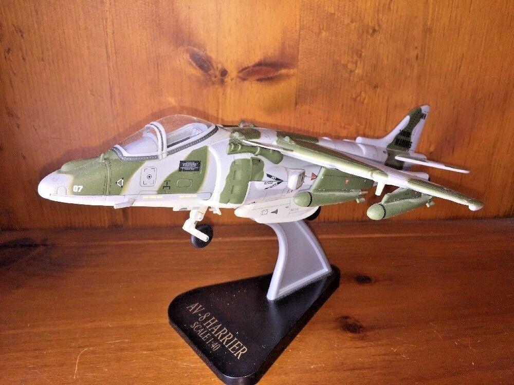 tomar hasta un 70% de descuento Vintage Av-8 Aviate Marines Militar Modelo Réplica Avión Harrier Unique Unique Unique 7 14  solo cómpralo