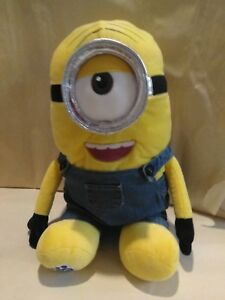 Build A Bear Minion Stuart SOUND VOICE BOX Bear Doll NEW
