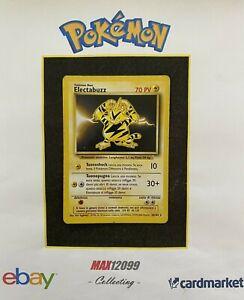 Pokemon ELECTABUZZ Rara Non Holo SET BASE Unlimited 20/102 ITA / LP