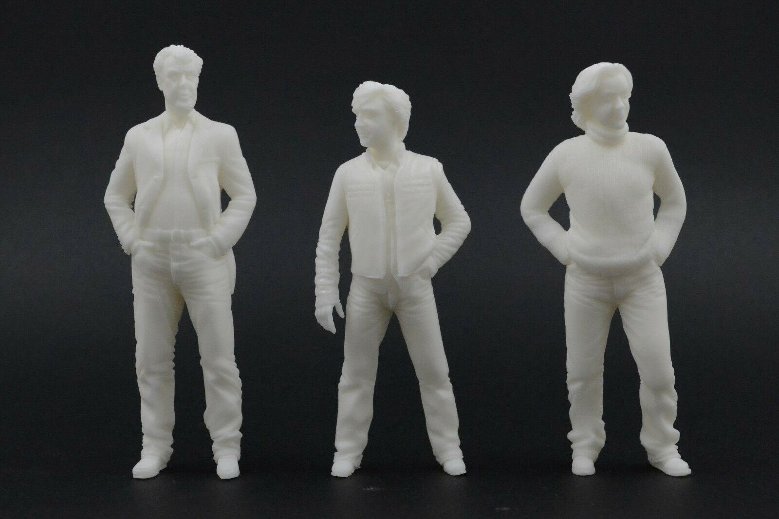 Clarkson & Hammond & May Figures for 1 18 Top Gear Grand Tour Mercedes AUTOart