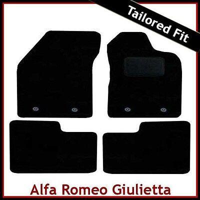 2010 on Tailored Car Floor Mats Red ALFA ROMEO GIULIETTA