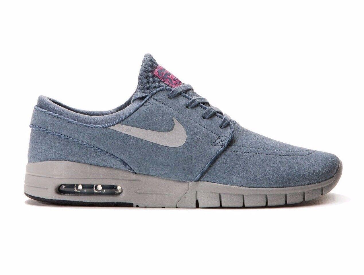 Nike STEFAN JANOSKI MAX L Blue Graphite Metallic Discounted (495) Men's Shoes