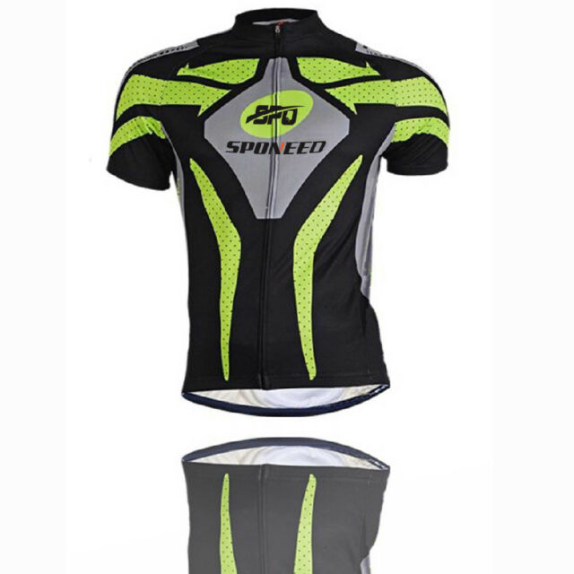 Cycling Jerseys Suits for Men Padded Bike Shorts Mountain Cycle ... 2c2c800a8