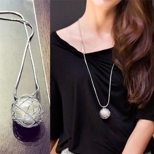 Tempérament Artificial Pearl Twist Cage Métallique Collier pour la Saint-Valentin Shan