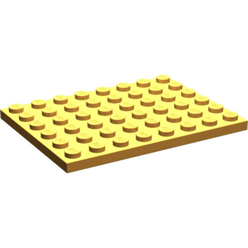 BESTPRICE 3036 6x8 PLATE LEGO FREE GIFT NEW COLOURS M-Z SELECT QTY
