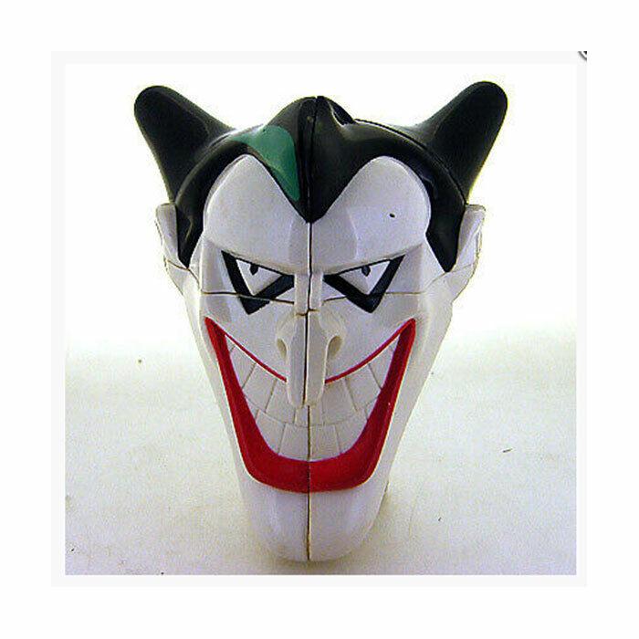 Rare 1999 Cute Warner Bros. Batman Joker 2x2 2x2x2 Magic Cube Twist Puzzle