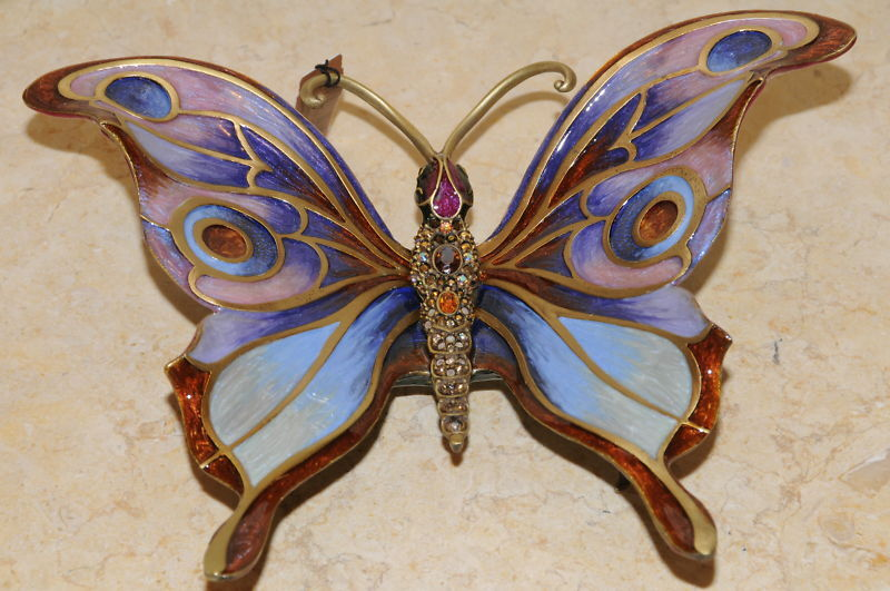 Jay Strongwater Papillion Großer Schmetterling Figur Im Karton