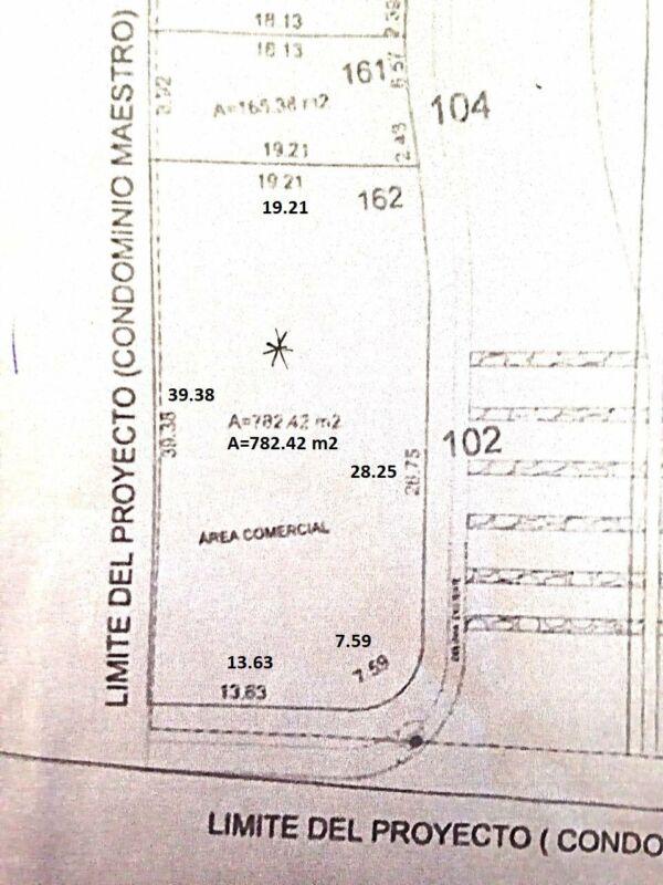 Terreno 100% comercial en renta, poniente de Aguascalientes, area comercial de Fracc Alberia.