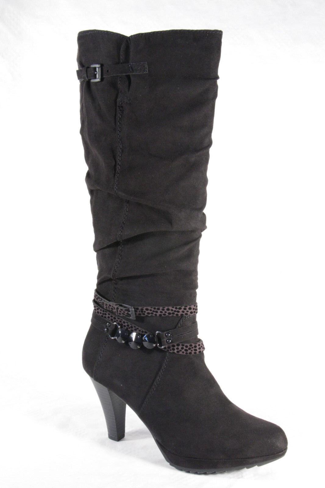 Marco Mujer, Tozzi 25509 botas Mujer, Marco Botines, botas Negro 25509 Nuevo 092ec1