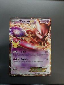 Mewtwo EX Pokémon Celebrations 25th Anniversary