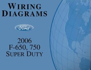 2006 Ford F650-F750 Super Duty Truck Wiring Diagrams ... Wiring Schematic F on