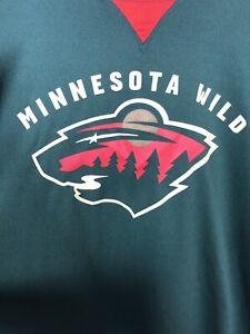 detailing 8ffcf b8cfc Details about Nhl Minnesota Wild Mens Xl Green Jersey