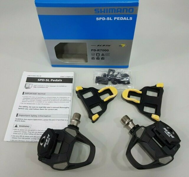 98f6cfcef24 Shimano 105 Pd-r7000 Spd-sl Road Bike Pedals - Epdr7000 for sale ...