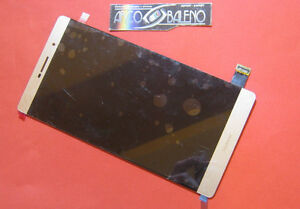 GLS-DISPLAY-LCD-TOUCH-SCREEN-PER-HUAWEI-P8-MAX-6-8-034-ORO-GOLD-RICAMBI-VETRO-NUOVO