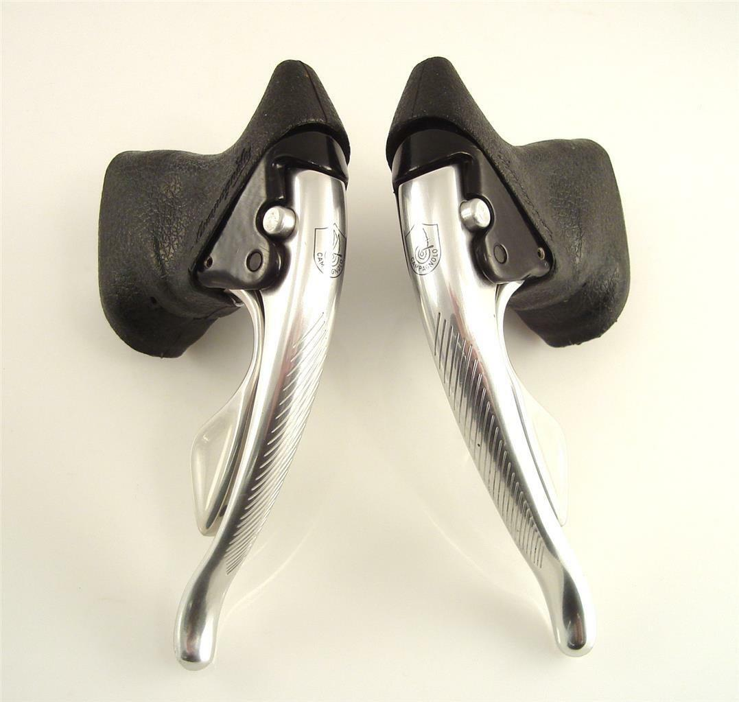 Near MINT  CAMPAGNOLO Record 1st Gen. 8 Speed Brake Levers Shifters (6k)  lowest prices