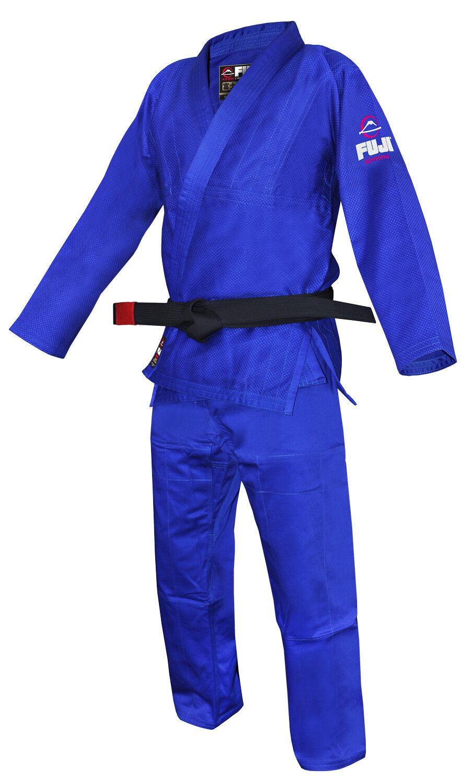 Fuji Sports Uomo tutti Around Ju Jitsu Gi reale Blu