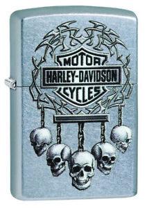 Zippo-Harley-Davidson-207-Street-Chrome-Spring-2018-neu-60003930