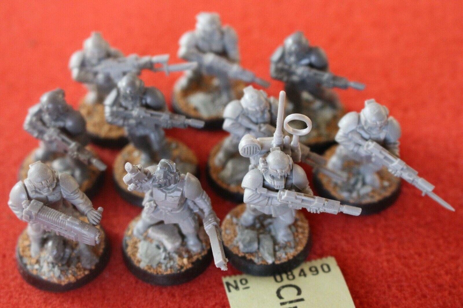 Games Workshop Warhammer 40k Astra Militarum Cadians Cadian Squad Based Army E6