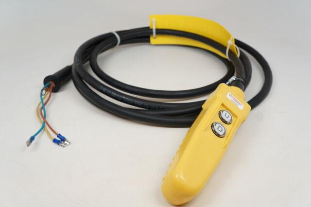 Pendant Control Station for CM Chain Hoist 16' Cord New