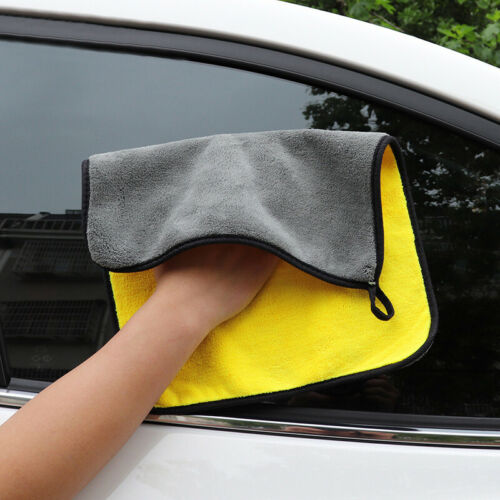 HOT Car Cleaning Towel Car Care Coral Velvet Wiping Cloths 30*30cm High Density