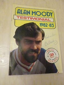 1982 Alan Moody Testimonial Programme Southend United  Signed by Moody - ilford, Essex, United Kingdom - 1982 Alan Moody Testimonial Programme Southend United  Signed by Moody - ilford, Essex, United Kingdom