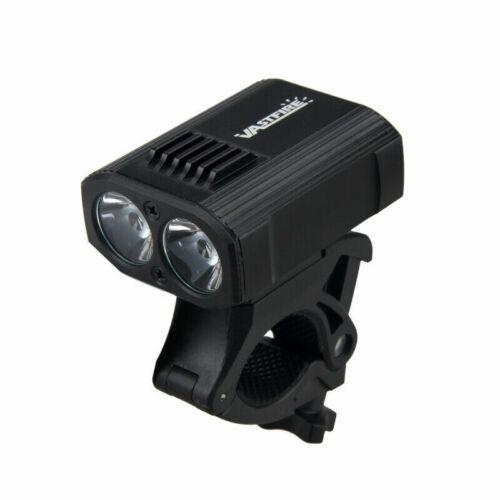 2pcs Rechargeable USB 15000LM T6 LED VTT Vélo Bicyclette Avant éclairage Neural