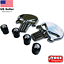 BUNDLE-Metal-Punisher-Decal-Sticker-Emblem-w-Matching-Wheel-Tire-Valve-Caps miniature 5