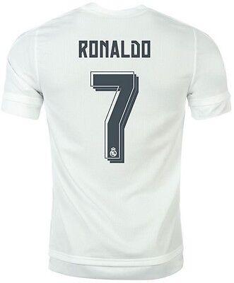 XXL.3XL CR7 Trikot Adidas Real Madrid 2015-2016 Home Langarm Ronaldo 7