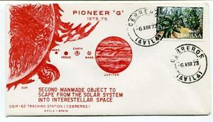 1973 Pioneer G Second Manmade Object Scape Solar System Interstellar Space Nasa