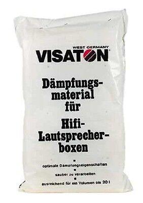 Visaton Dämpfungsmaterial  Polyesterwolle für 20 Liter 090063