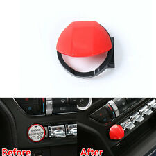 Decoration Engine Start Stop Switch Button  Cover Cap For Ford Mustang 2015-2017
