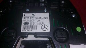 Mercedes W211 W219 Deckenleuchte Innenbeleuchtung hinten
