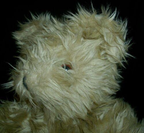 Stofftiere 27.9cm Vintage Oshkosh B'Gosh Hellbraun Teddybär Plüschtier Spielzeug Lovey